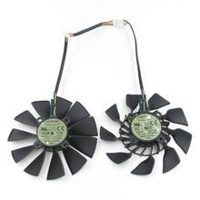 New Original EVERFLOW T129215SU DC 12V 0.5A VGA Card Cooling Fan For Graphics ASUS GTX780 GTX780TI R9 280 290 280X 290X