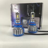Car Styling Canbus Kit T1 Led Headlight 30W 6000k 12 24v 9006 HB4 3000lm Fog Bulb
