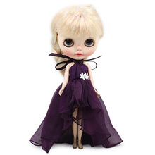 Elegant Long Dress for Middie lythe Doll Clothes 16 Ball Joint Princess Party Girls Gift ICY BJD Toys Accessories