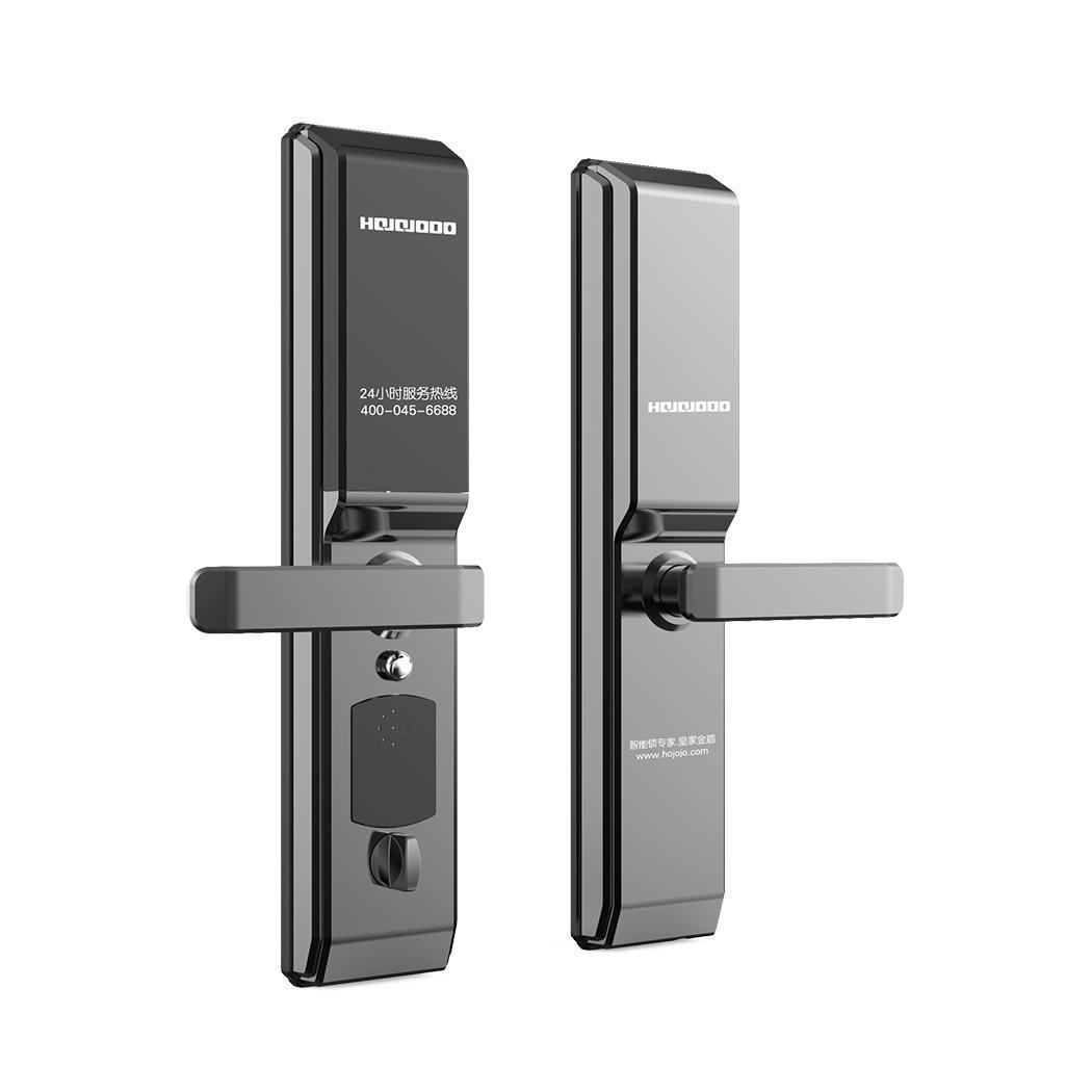 Serrure de porte numérique empreinte digitale mot de passe Anti-vol clé de poignée de sécurité à domicile