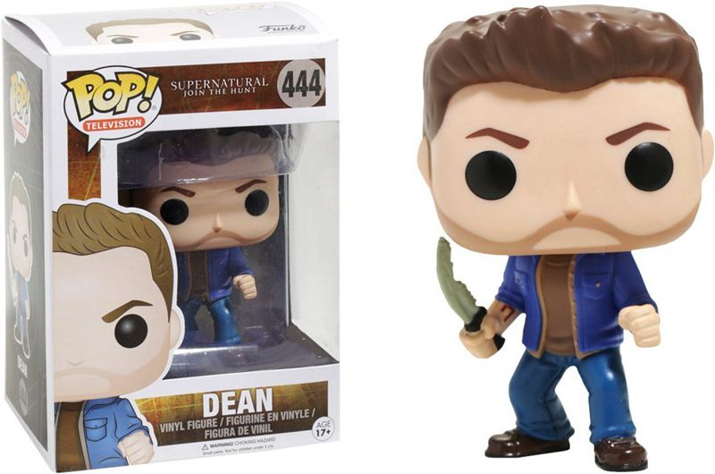 Exclusive <font><b>Funko</b></font> <font><b>pop</b></font> Official <font><b>TV</b></font>: <font><b>Supernatural</b></font> - Dean (with Blade & Mark ) <font><b>Vinyl</b></font> <font><b>Action</b></font> <font><b>Figure</b></font> Collectible Model Toy in Stock