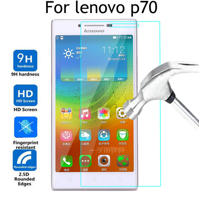 For lenovo p70 Tempered Glass 5.0inch Screen Protector For lenovo p70 p 70 Glass P70T P70A p70t Case Protective Film Cover