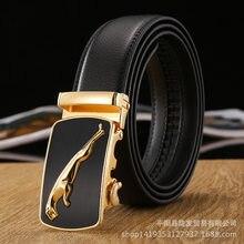 d435e4e23e32 Hommes designer vache véritable ceintures en cuir pour hommes père  coulissante automatique boucle à cliquet de luxe ceinture 130.