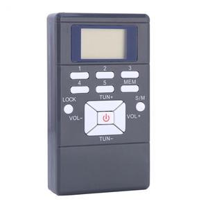 Image 3 - Przenośny mini cyfrowy Stereo LCD modulacja częstotliwości samochód FM Radio cyfrowy sygnał bezprzewodowy odbiornik odtwarzacz z słuchawką