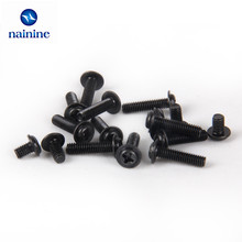 nainine 50Pcs DIN967 M2 M2.5 M3 PWM Pan PC Case Chassis Fixed Motherboard Screws With