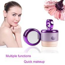 Electric 3D Cosmetic Puff Sponge Puff Vibration Foundation Powder Cream Makeup Puff Automatic Vibrator Makeup Beauty Tool