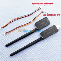The New Single TTL 3DRobotics 3DR Radio Telemetry Kit 433Mhz 915MHz For APM APM2 PIXHAWK PX4