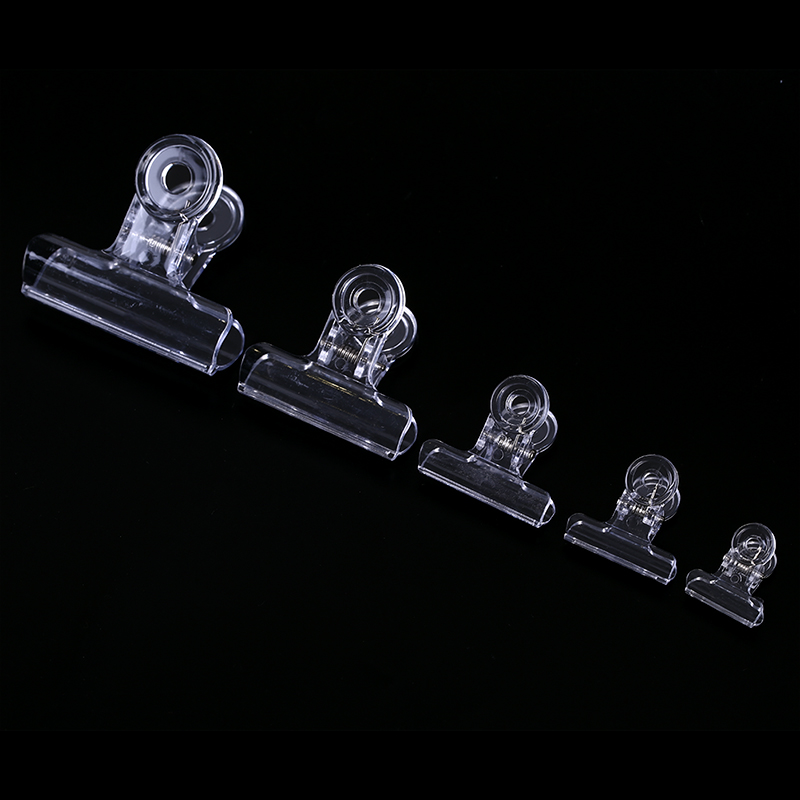 5PCS Clear Fly Tying plastic Clips Dubbing Clip Hackle Holding Tools Fly Fishing Accessories 22mm,31mm,38mm,50mm,63mm