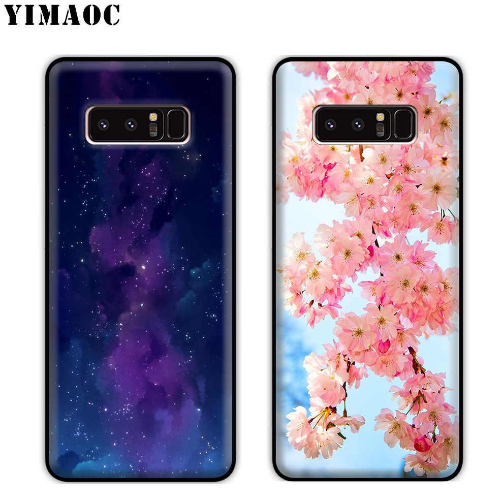 Мягкий силиконовый чехол YIMAOC для samsung Galaxy Note 9 8 A9 A8 A6 Plus 2018 A5 A3 2017 2016