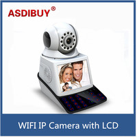 Wifi IP Camera Calling System Smart Phone Remotely Control Network Camera 3C Card Call LCD Touch