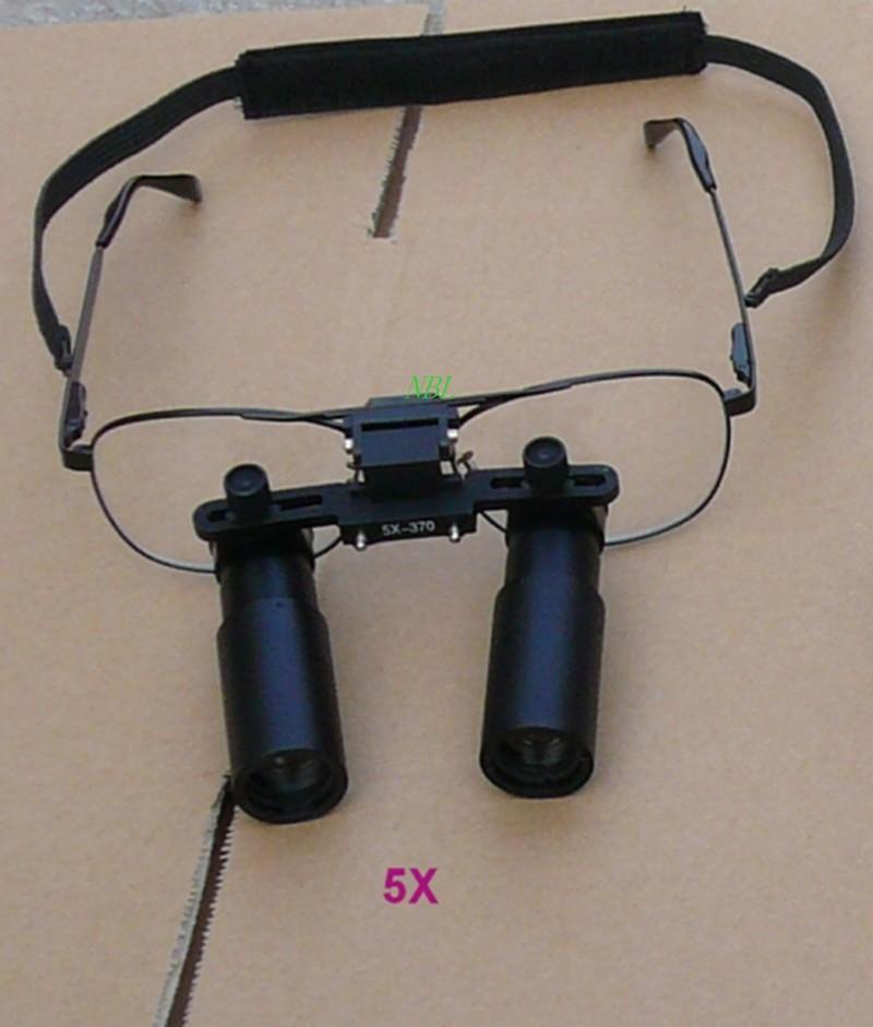 Aliexpress.com  Compre 5X Preto HD Lente Óculos Dental Lupa ... 034f1a9475