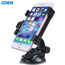360 Degree Ratotable In Car Phone Holder Universal Car Bracket GPS Stand Mount Support Large Screen