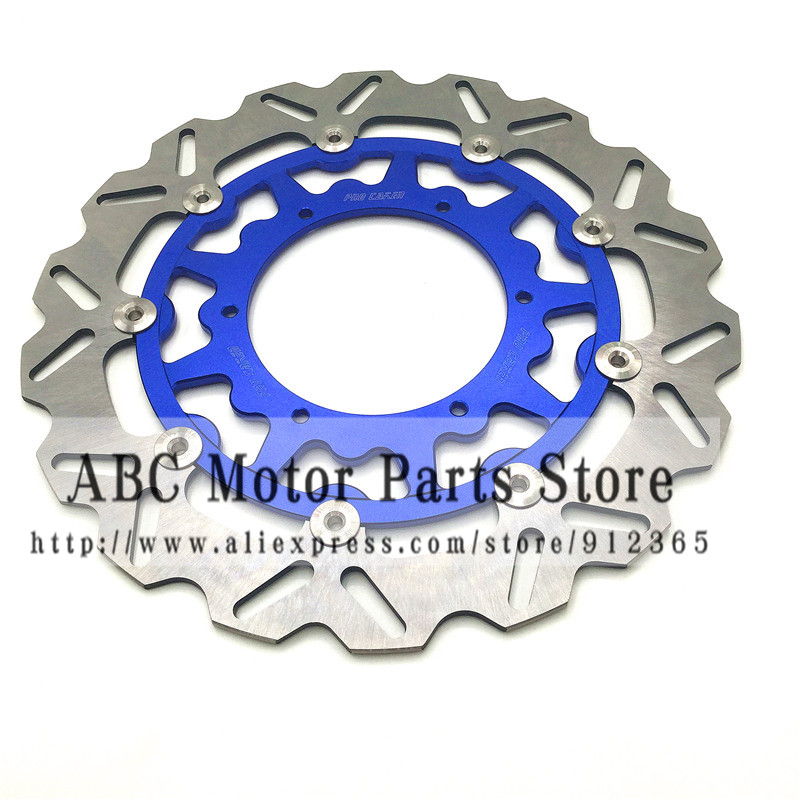 320MM Oversize Front Floating Brake Disc Rotor YZF WRF YZ250 YZ250F YZ400F YZ450F WR250 WR250F WR400F WR450F Supermoto high quality 270mm oversize front mx brake disc rotor for yamaha yz125 yz250 yz250f yz450f motorbike front mx brake disc