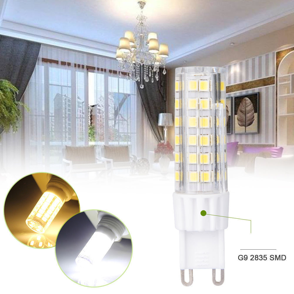 LED Lamp G9 220V 5W 7W 9W 12W 15W Mini LED G9 Bulb Lamp Ceramic Crystal High Power High Transmittance 360 Degree G9 Light