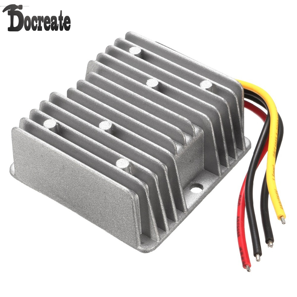 DC/DC Converter Regulator 24V Step Down to 12V 20A 240W hot sale dc dc converter regulator 12v step down to 5v 20a 100w for vehicle instrucments free shipping cnc 27