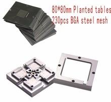 Free shipping 80* 80mm HT-80H BGA sik Chu Taiwan bumping jigs universal send 230PCS