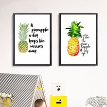 Pineapple Quote Abstract Canvas Art Print Painting Poster Wall Pictures For Living Room Home Decorative Bedroom Decor No Frame 3d car 360 hd surround view monitoring system 360 degree driving bird view panorama car cameras 4 ch dvr recorder with g sensor