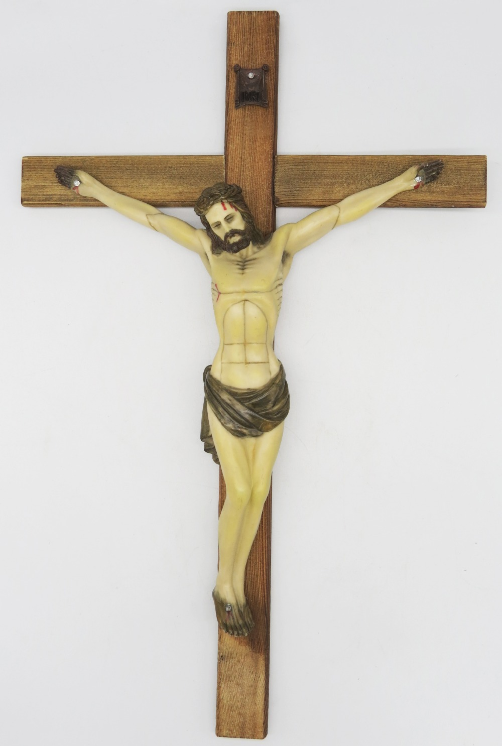 new products innovative design united states US $55.23 |Hankroi 19.6 Inch Wall Cross Crucifix Hand Painted Resin body of  Christ on Carbonized Wood Cross Resin Jesus Sculpture-in Wall Crosses from  ...
