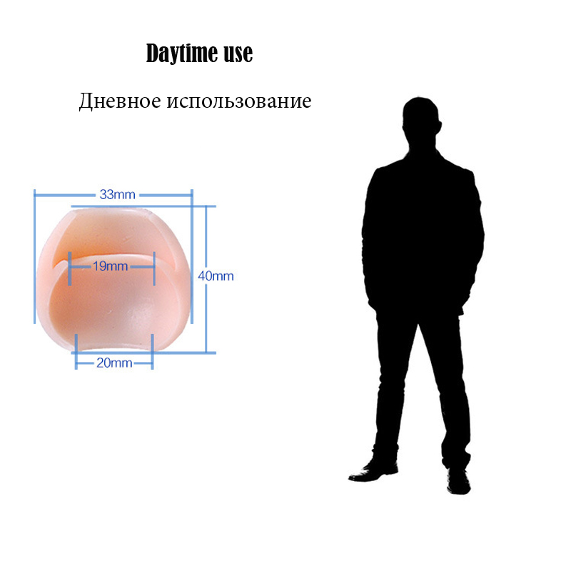 Silicone Foreskin Correction Ring Phimosis Resistance Penis Rings Erectile Expander Masturbators Adult Product Sex Toys For Men in Penis Rings from Beauty Health