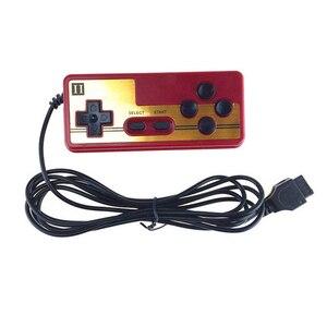 Image 5 - Klasik 9 Pin Oyun Denetleyicisi Konsolu Oyun TV Oynatıcı Gamepad Joystick Sürekli Çalıştırma Fonksiyonu Oyun Kolu famicom