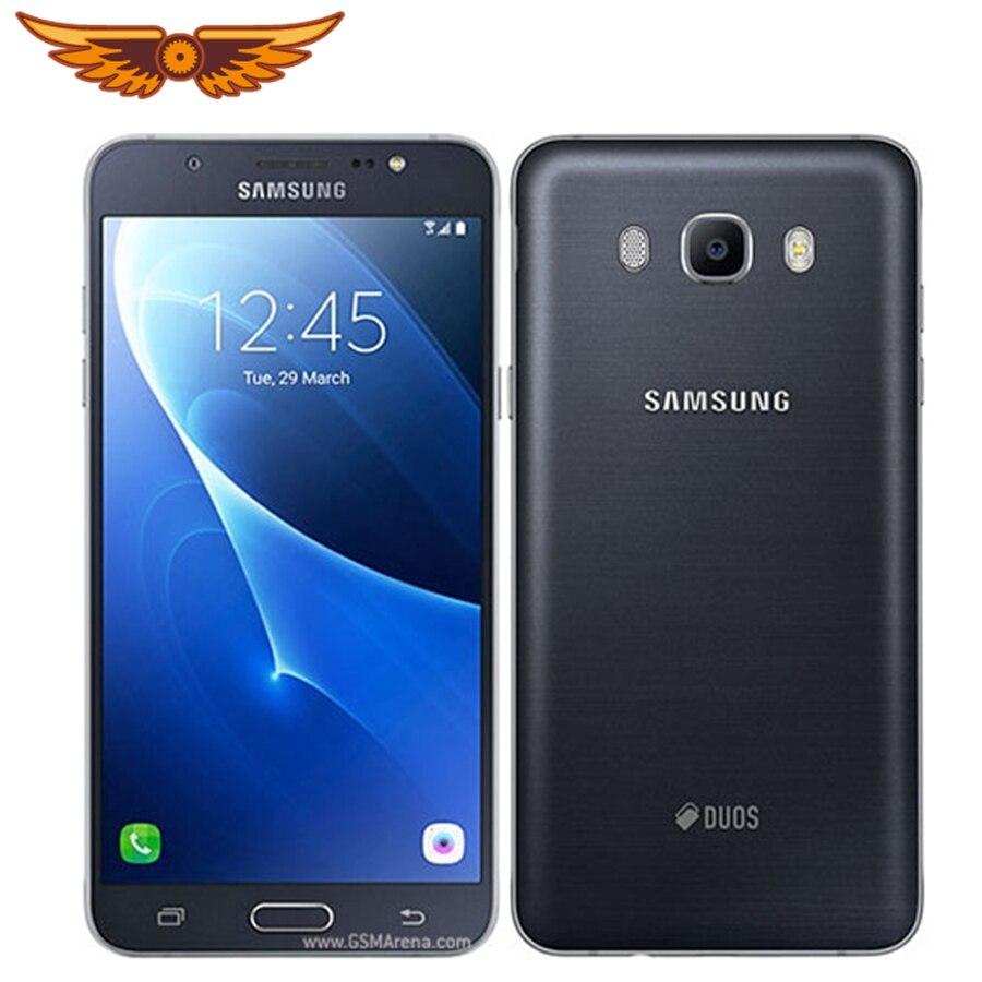 Samsung-teléfono inteligente Galaxy J7 Duos(2016), teléfono móvil Original libre J710F con pantalla de 5,5 pulgadas, Octa Core, 2GB RAM, 16GB ROM, soporta NFC LTE, cámara de 13.0mp y 4G
