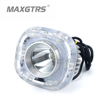 21W LED Motorcycle Headlight CREE Chip DRL and Major Fog Light Headlamp DRL For All Motorcycle DC8 85V Waterproof Light Source