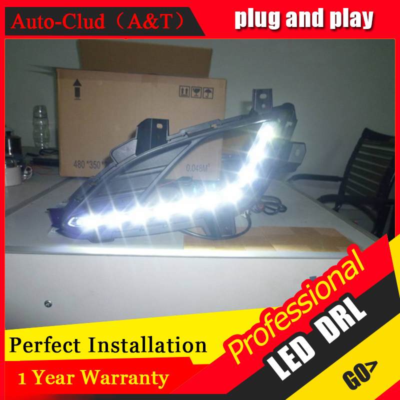 Auto Clud car styling For Hyundai avante LED DRL avante led fog lamps daytime running light High brightness guide LED DRL A styl auto clud car styling for toyota highlander led drl for highlander high brightness guide led drl led fog lamps daytime running l