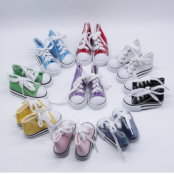 1 Pair 5cm Canvas Shoes For BJD Doll Toy Mini for Sharon Boots Dolls Accessories