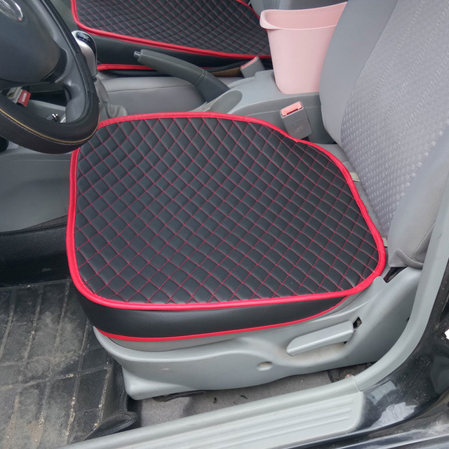 Leather Car Pad Seat Cushions Cushion Pads Covers For