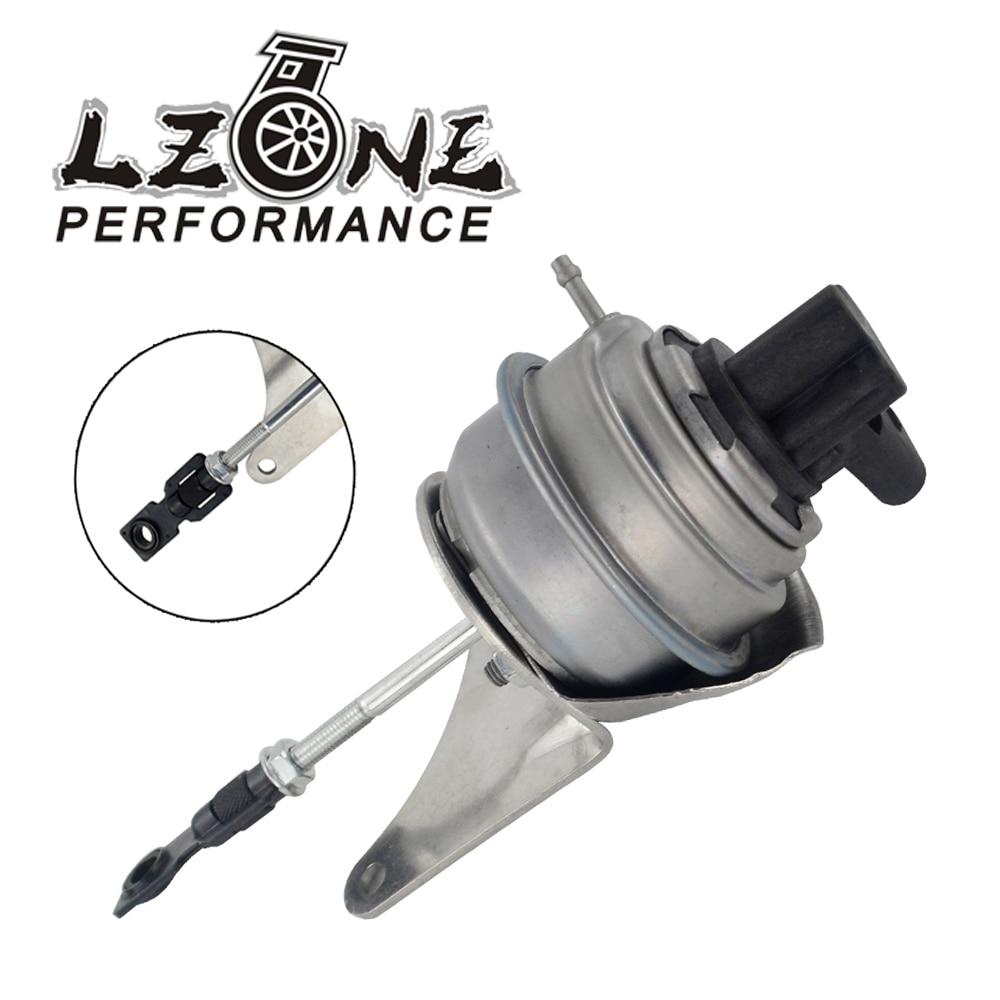 LZONE - Turbo turbocharger wastegate actuator + POSITION SENSOR 03G253010A 03G253019N 757042 For AUDI VW SEAT SKODA 2.0 TDI turbo charger 757042 5013s 757042 chra gtb1749vm 03g253019n core cartridge for skoda octavia ii 2 0 tdi 170 hp bmn bmr buy buz