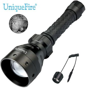 UniqueFire IR 940NM LED Night Vision Flashlight UF-1406 High Quality Aluminum Alloy 18650  Torch With Remote Pressure