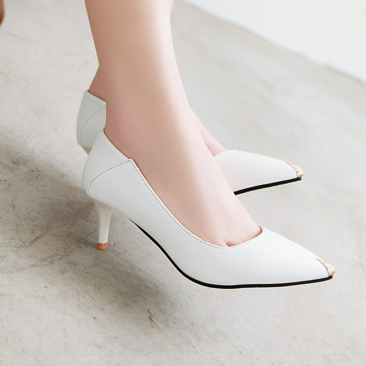 Big Size 11 12 13 14 15 16 17 ladies high heels women shoes woman pumps Pointed slim-heeled shallow-mouthed single shoe