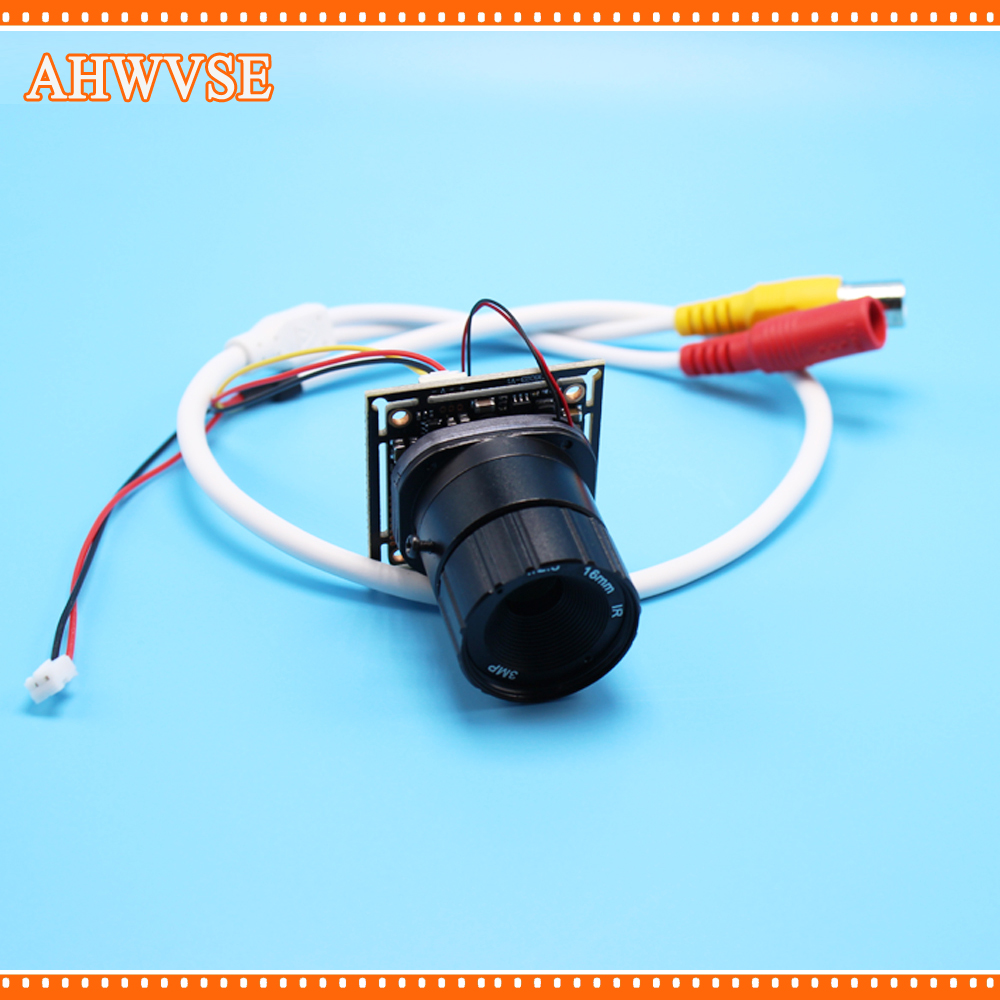 AHWVSE HD Mini AHD Camera 2MP 720P 1080P CCTV Security Camera with 16mm Lens
