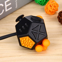 Fidget Cube 2 Stress Reliever Gifts Relieves Anxiety 12 Sided Magic Cube For Adults Kids Anti
