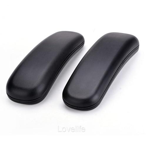 Office Chair Parts Arm Pad Armrest Replacement 9.75 x 3 (Black)