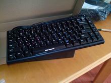 Noppoo choc mini 84 POM negro color compacto en stock azul rojo marrón mx de la cereza interruptor blanco PBT mini84 teclado teclado mecánico