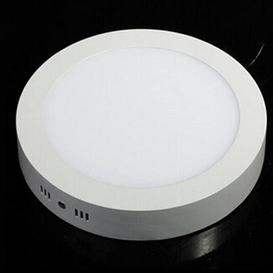 6W 12W 18W 24W LED panel lights Round Surface Mounted Downlight lighting SMD2835 AC85-265V Ceiling lamp with driver