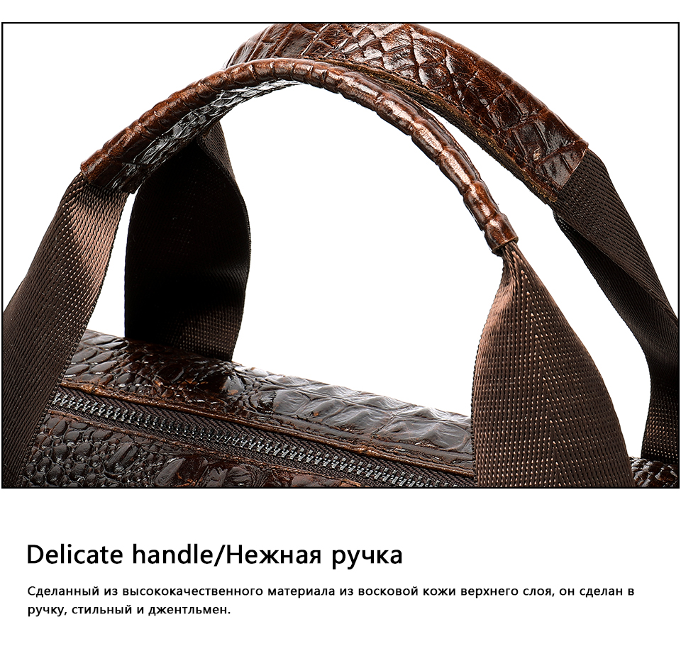 HTB1clTmXgKG3KVjSZFLq6yMvXXap MVA Male briefcase/Bag men's genuine leather bag for men leather laptop bags office bags for men Crocodile Pattern handbag 5555