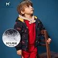 Новинка 2018 года; пальто для маленьких мальчиков; сезон осень-зима хлопковое весеннее пальто для девочек; куртка детская одежда с капюшоном д...