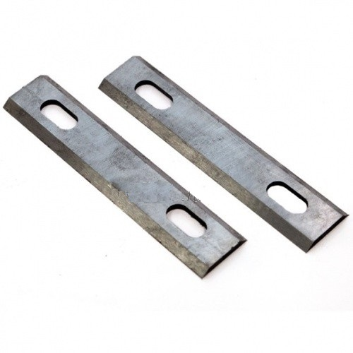 HZ 2Pcs 110x23.5x3mm Planer knives for Rebir 5708C, SKRAB 35537 Interskol P-110 1100M/2000M, Rubber Elitech P110
