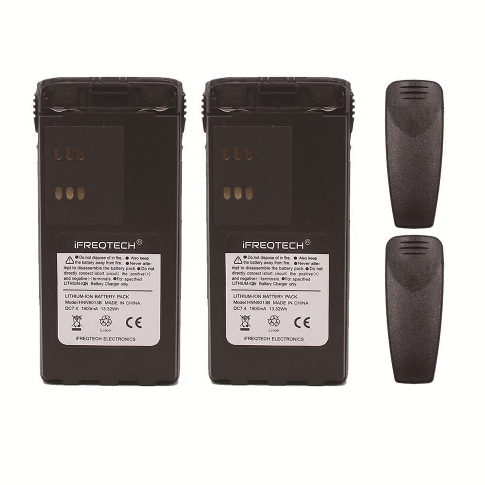 12 X New Ni-MH HNN9013B HNN9013DR Battery for MOTOROLA GP328 GP338 HT1250 HT750