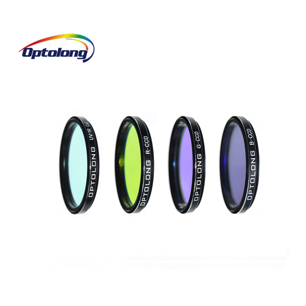 OPTOLONG 2 LRGB Imaging Filter Kit Camera Set for Deep Sky Planetary Photography Astronomy Telescope M0007 optolong yulong 2 inch 1 25 inch built in l pro almost no color filter light filter deep space photography filter