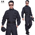 men security suits spring and autumn long sleeve security guard sets male training service uniform 2pcs set security uniforms