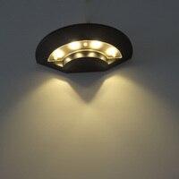 BECOSTAR  Park high moisture-proof 4W Wall Mounted Lamp energy saving Light corrosion-proof lamp Warm White