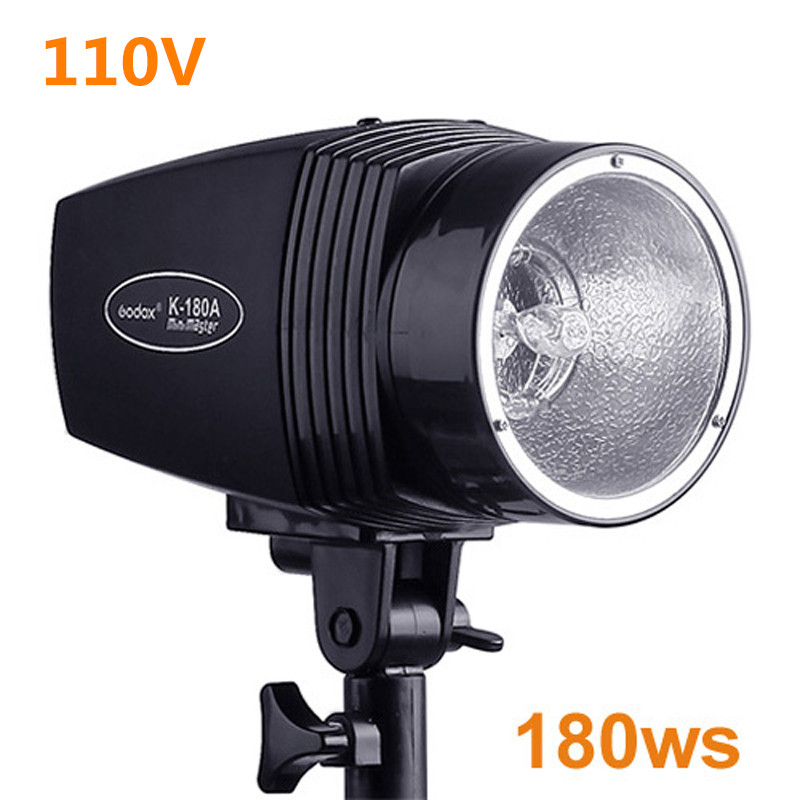 ФОТО Photography Studio Strobe Photo Flash Light 180ws 110V Photo Studio Mini Strobe Photographic Lighting