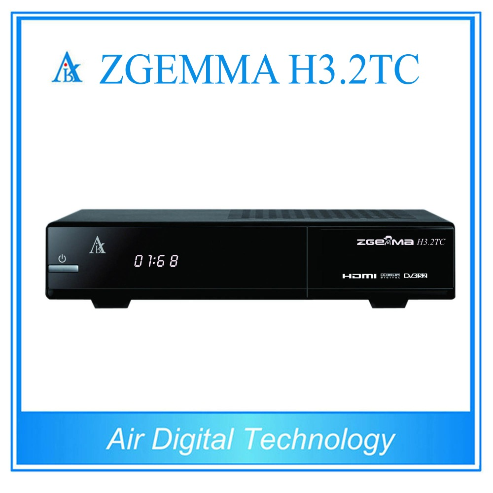 Здесь продается  2 pcs/lot zgemma h3.2tc twin cable/terrestrial + satellite tv receiver DVB S2 + 2 * DVB C/T2  Бытовая электроника