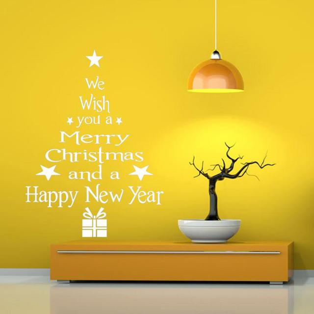 Awesome Christmas Wall Art Decals Embellishment - Wall Art Design ...