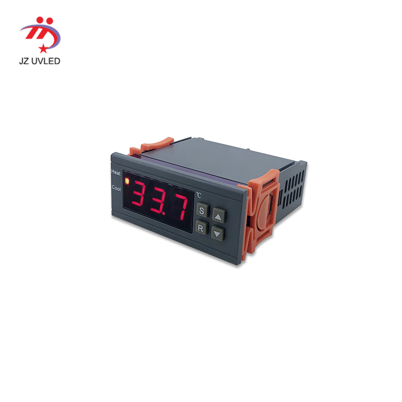 DC24V <font><b>UV</b></font> LED lamp cooling water tank temperature display alarm instrument water flow alarm meter display image