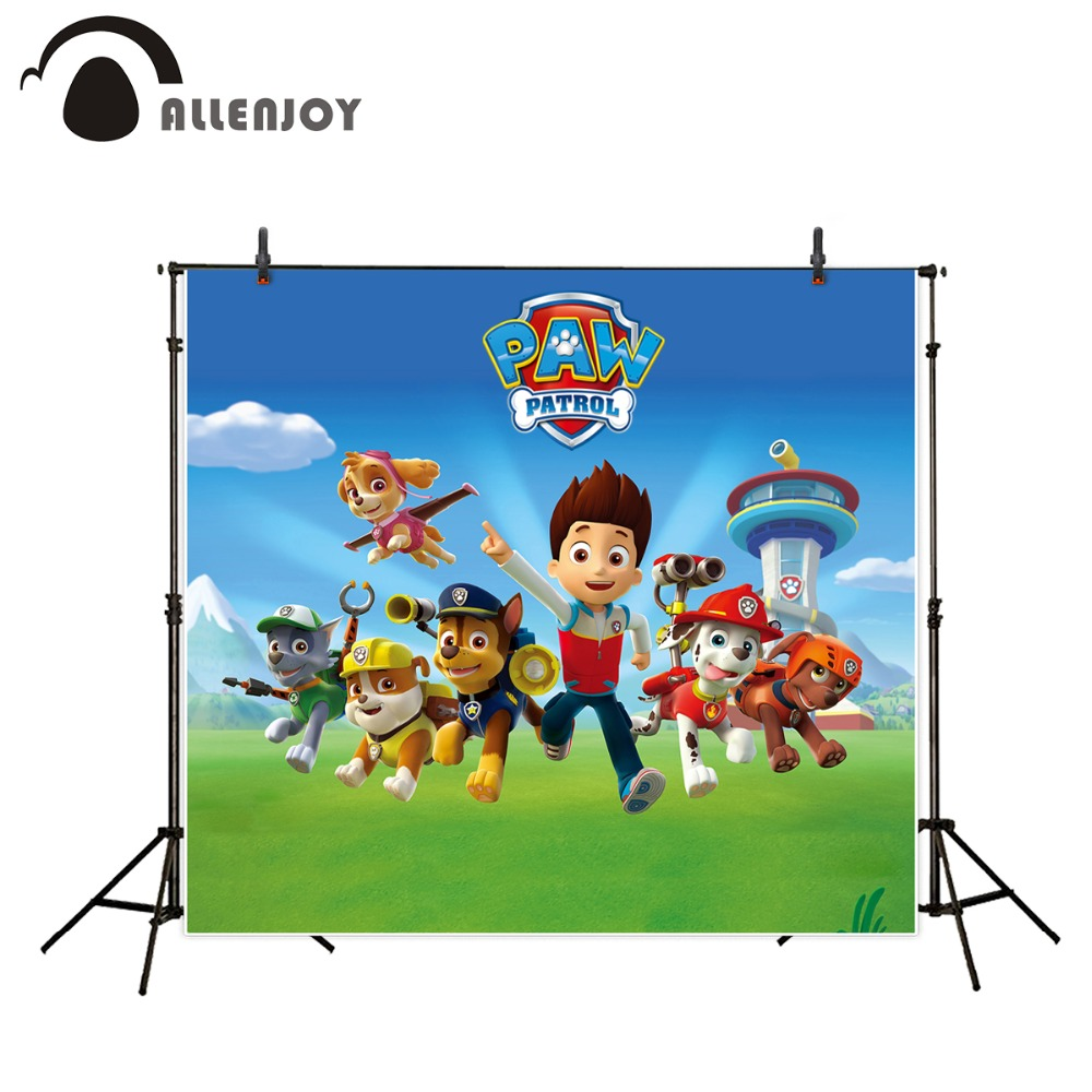 Allenjoy Happy Birthday photography backdrops cartoon children animals grass Personal customization backgrounds for photo studio 2016 new spring autumn breathable casual shoes for men british style fashion men flat shoes blade mens trainers zapatos hombre