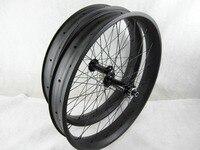 free shipping 2016 FSS80C carbon fat wheelset 26er fat bike wheels,tubeless 26er fat bike wheels fork bike